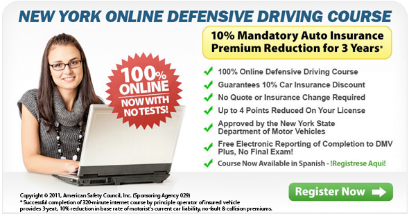 online defensive driving course no test